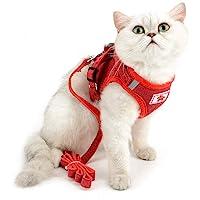 SELMAI Arnés de Malla para Gatos Perros Pequeños