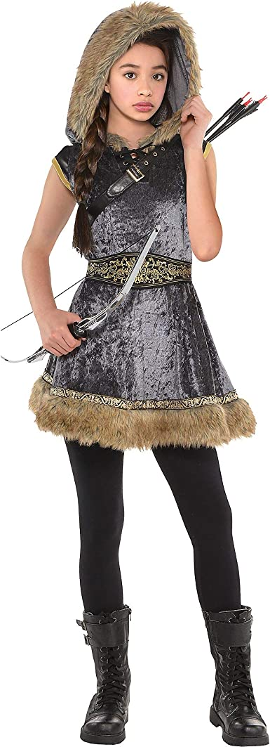 AMSCAN Miss Archer Halloween Costume for Girls, with Included Accessories