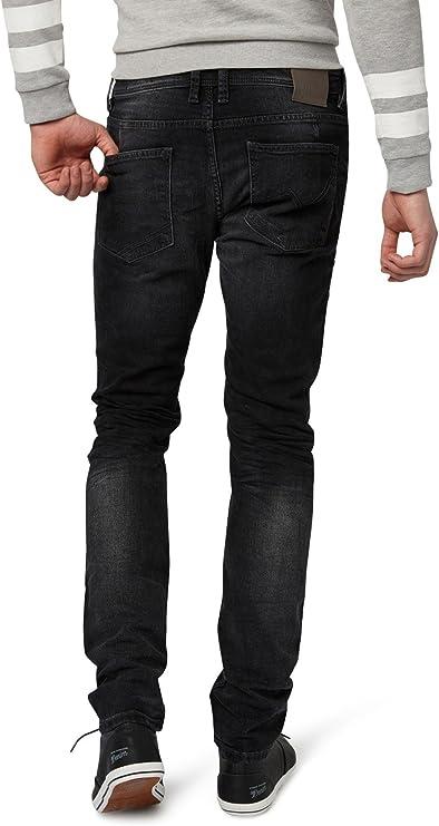 Pantalones vaqueros para hombre el/ásticos Salvarini regulares Slim A