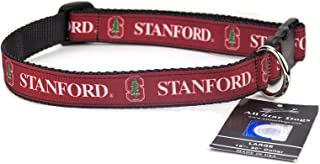 product image for All Star Dogs Stanford Cardinals Ribbon Dog Collar