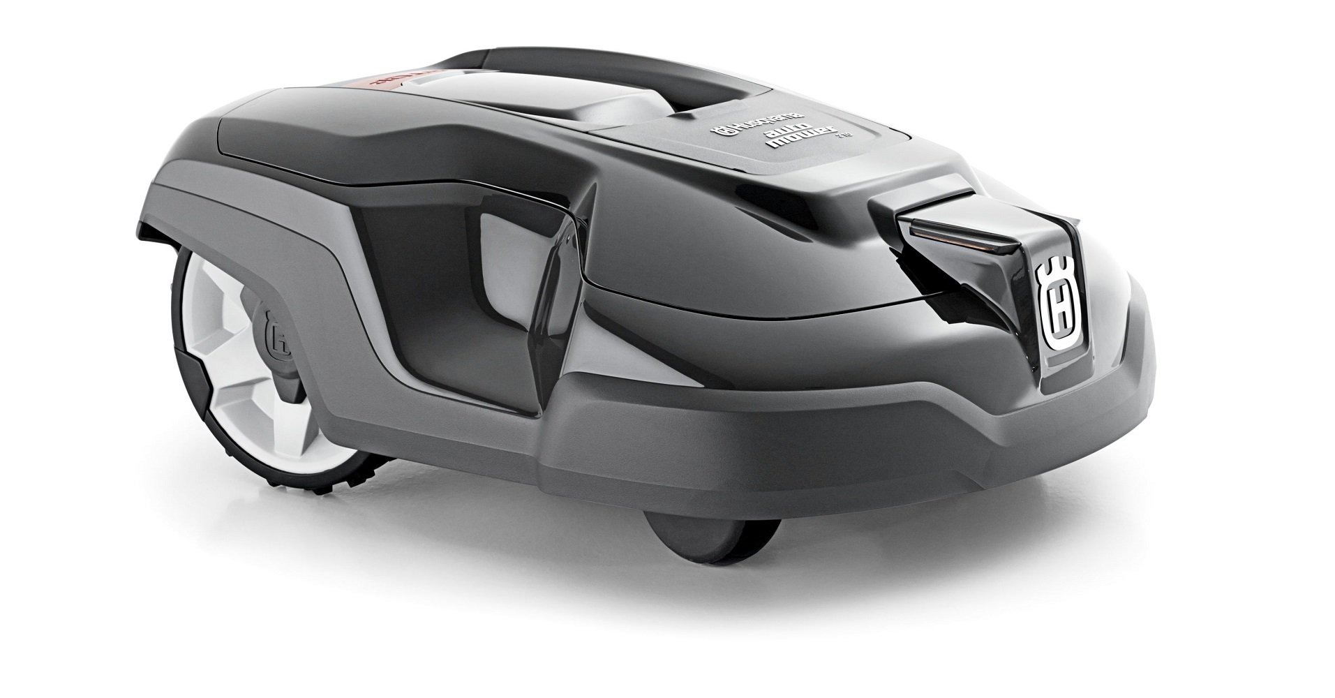 Husqvarna automower 310, robotic lawn mower 1 smart home meets smart lawn - manage your lawn with the touch of a button and maintain a yard your neighbor's will envy; the connect@home app allows you to set and adjust your automower's cutting schedule with ease (bluetooth connectivity works up to 100 ft) guided by hidden boundary wires, automower knows how to smartly maneuver around your yard and when to return to the charging station for a battery recharge quiet enough to run at night, you'll never have to worry about disturbing your neighbors again with noise or fumes