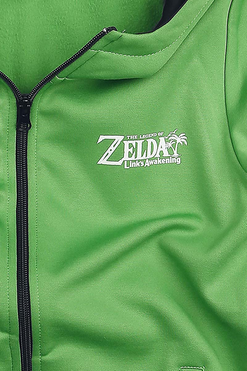 The Legend of Zelda Links Awakening Kinder /& Babies Kapuzenjacke gr/ün 98//104
