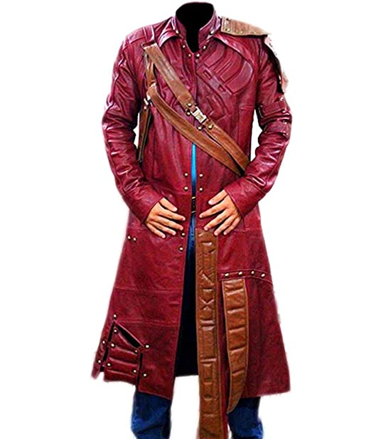 0b94060fda8e3 Stylish-Leather-Jackets - Chaqueta - Gabardina - para Hombre Rojo Rojo  Oscuro XX-Small  Amazon.es  Ropa y accesorios