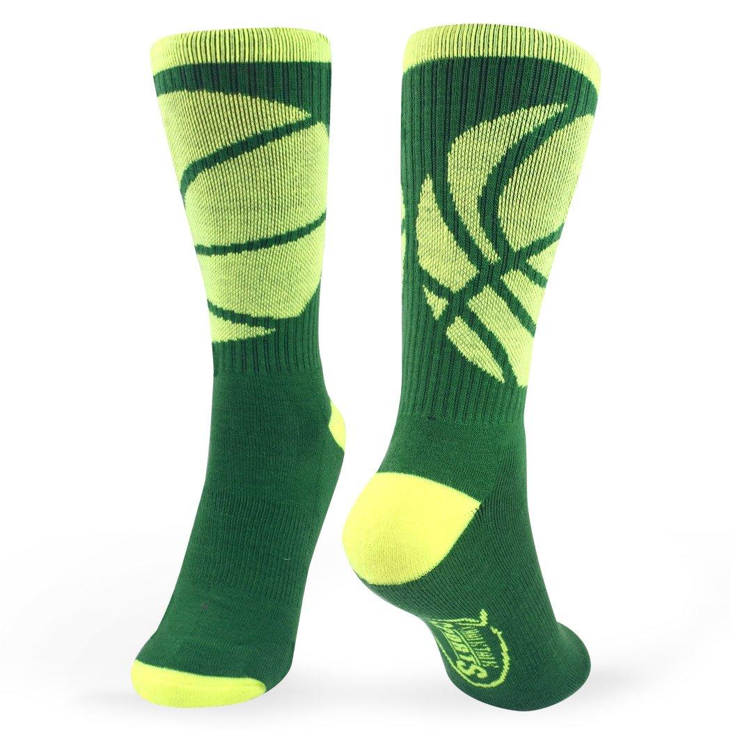 Athletic Mid Calf Woven Socks Basketball Sock by ChalkTalk SPORTS Multiple Colors Basketball Wrap