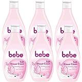 bebe Soft Shower Cream, 6er Pack (6 x 250 ml)