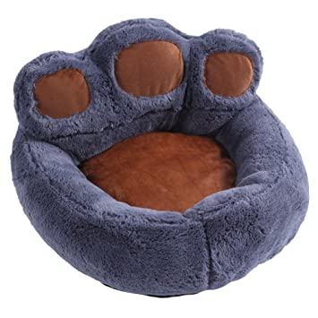Warmman El Mejor Regalo para Mascotas Gato Perro Casa de Felpa de Interior de la casa