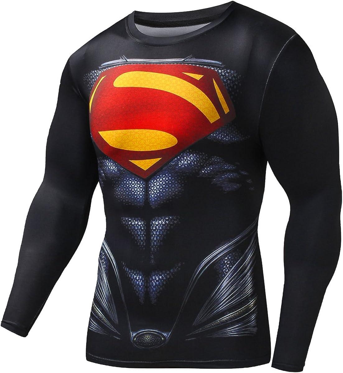 Fringoo/® T-Shirt Thermique /à Manches Longues pour Homme