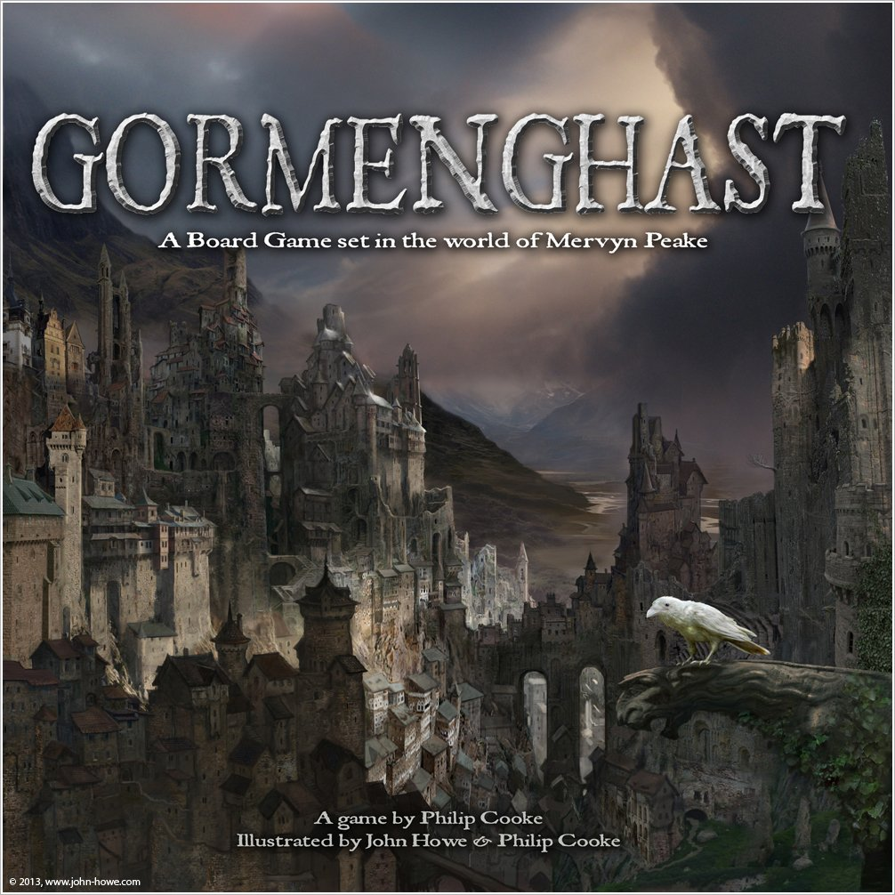 Gormenghast The Board Game Brettspiel
