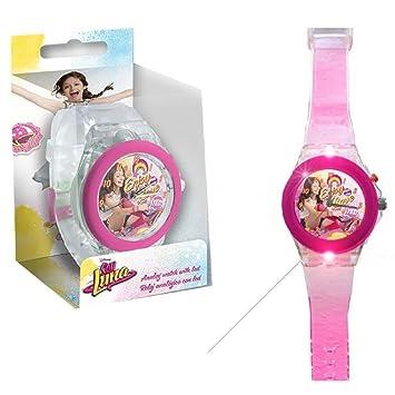 Kids Licensing - WD18086 - Soy Luna - Reloj analógico LED: Amazon.es: Juguetes y juegos