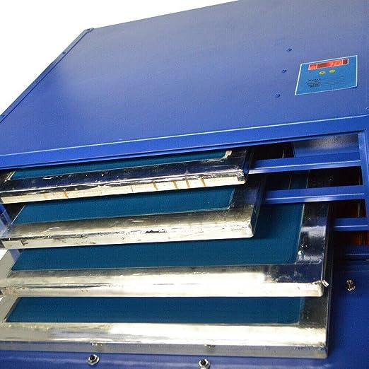 800W Silk Screen Printing Drying Cabinet 4 Layer Warming Exposure Unit Screen Printing Plate Drying Box Dryer Press Warming Machine