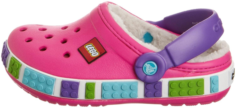 crocs Crocband Lego Mammoth K, Unisex - Kinder Clogs & Pantoletten CR.14631, Pink (NMNP) EU 29-31