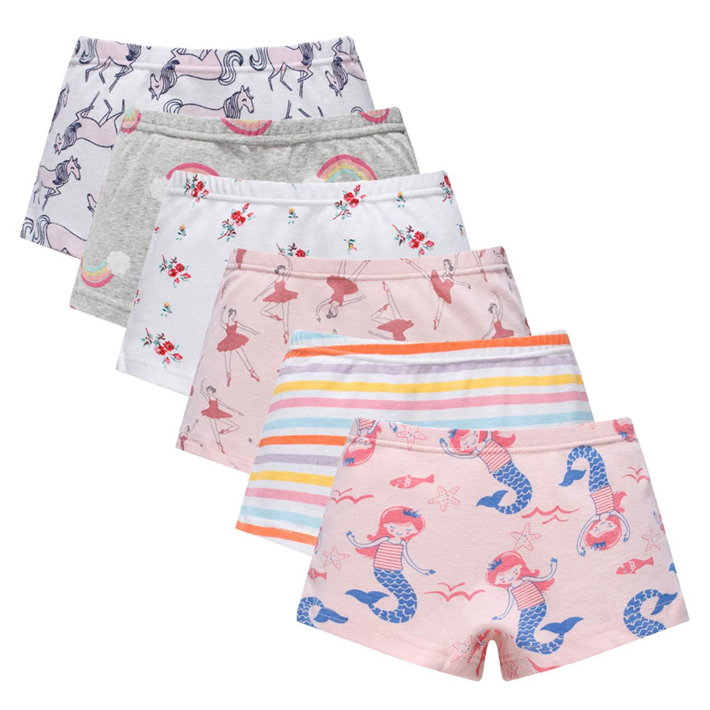 Boboking Baby Soft Cotton Girls Panties Little Girls'Briefs Toddler Underwear Kids Undies BOBOnkpingjiao