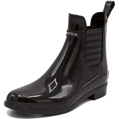 Nautica Ladies Windsail Womens Low Shaft Ankle/Mid Calf Gore Bootie Waterproof Winter/Rain Boot | Rain Footwear