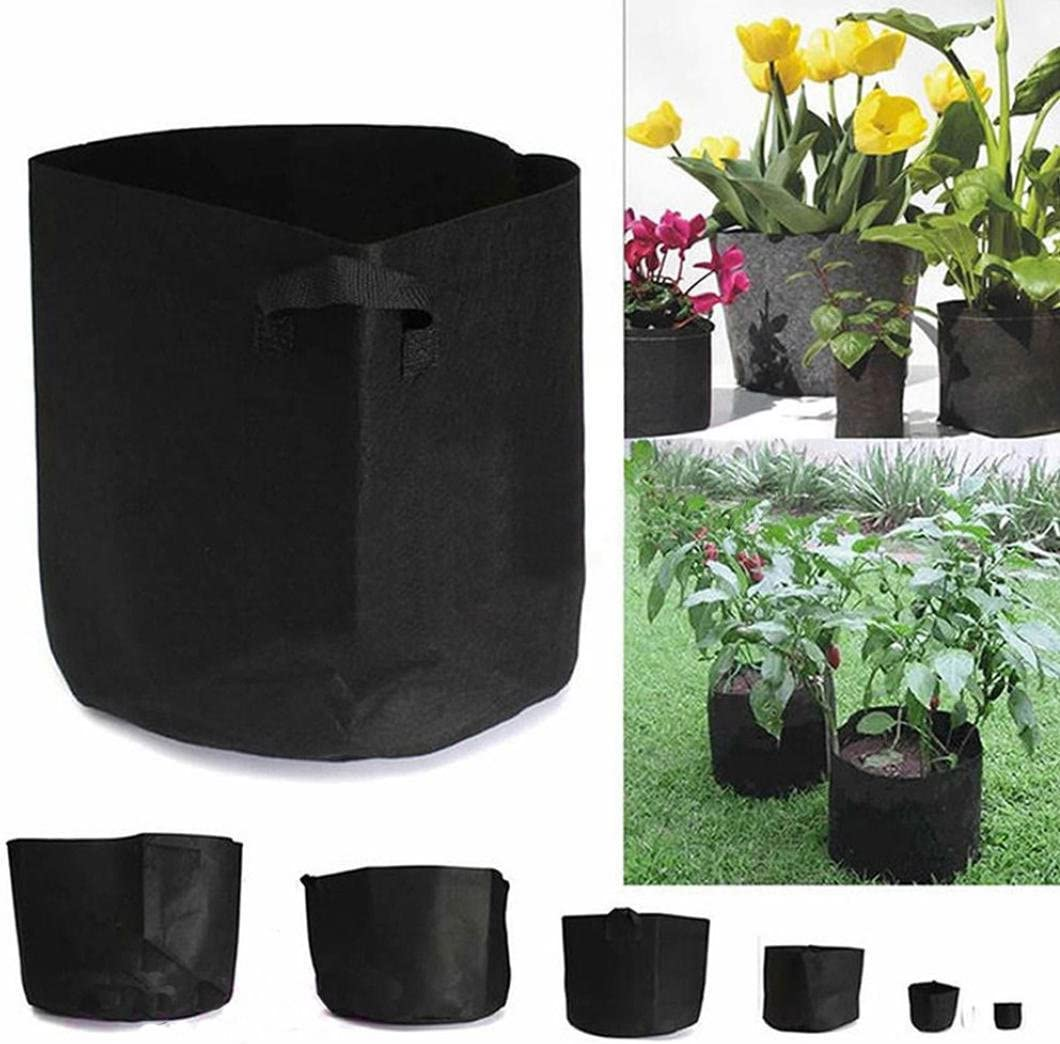 Jeeke Grow Bags,1 to 15 Gallon Plant Pouch Good Waterproof and Air Permeability