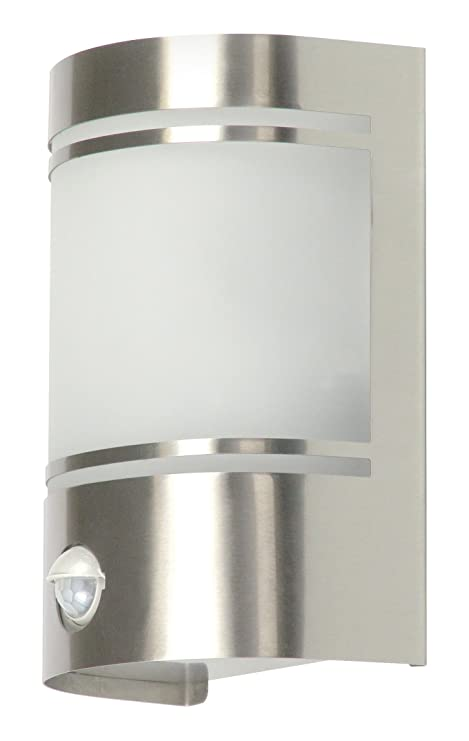 Ranex Alicante 5000.299 60 Watt Outdoor Wall Light with Movement Detector