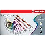 STABILO Carbothello Pastel Pencil, 60-Color Set, 1-pack (1460-6)