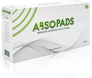 AbsopadsAbsopads Almohadillas anti sudor para espalda y pecho – Unisex con ajuste invisible y cómodo para evitar manchas de hiperhidrosis o sudoración ...