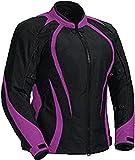 Juicy Trendz Motorcycle Motorbike Biker Cordura Waterproof Textile Jacket