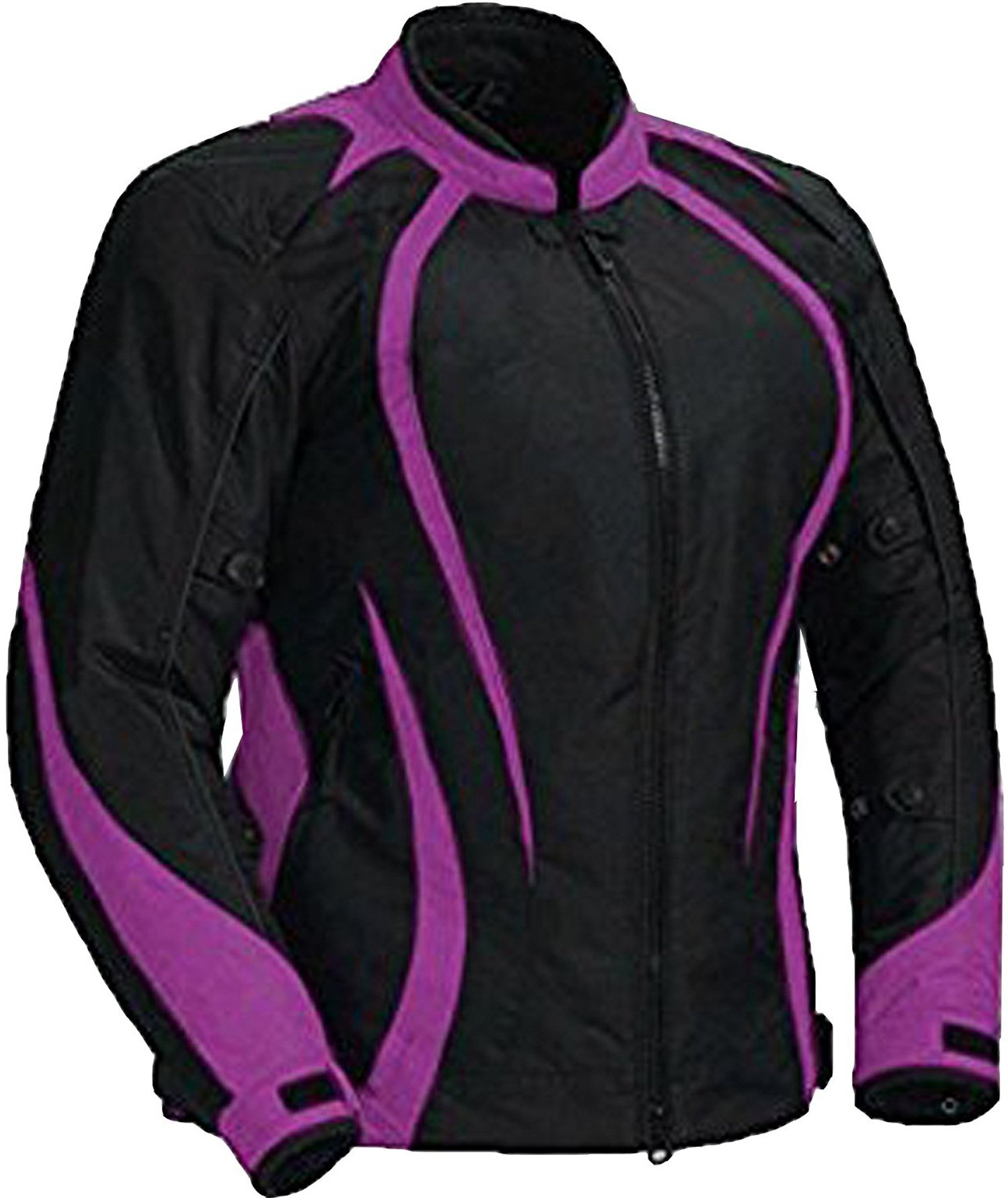 Juicy Trendz Motorcycle Motorbike Biker Cordura Waterproof Textile Jacket Purple Large