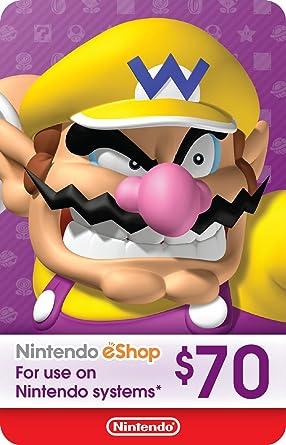Nintendo eShop Gift Card 70.0 USD