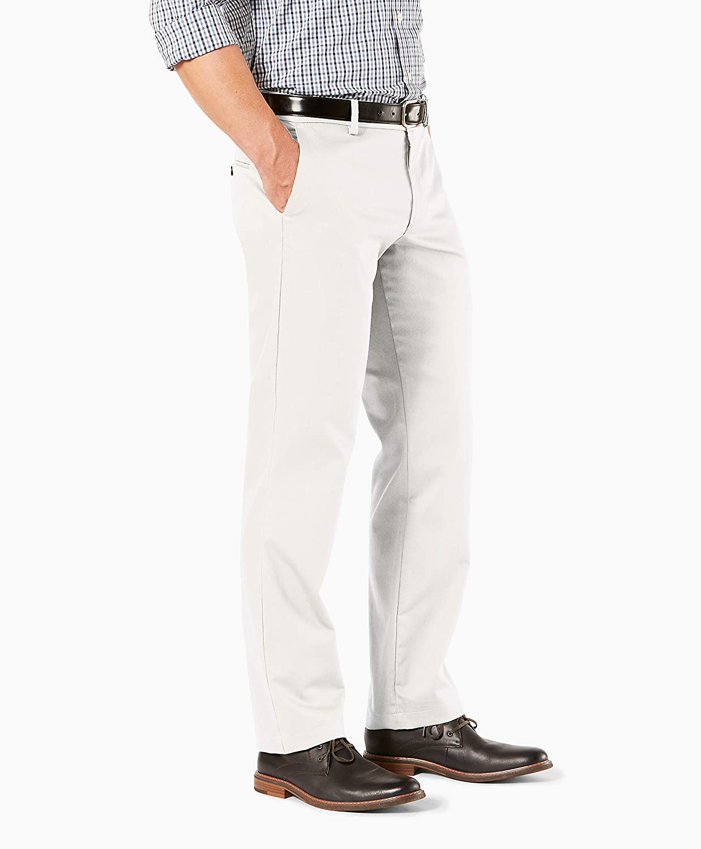 dockers Mens Straight Fit Signature Khaki Pant D2