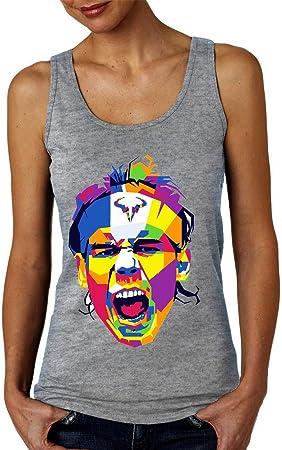 Rafa Art Camiseta sin Mangas para Mujer