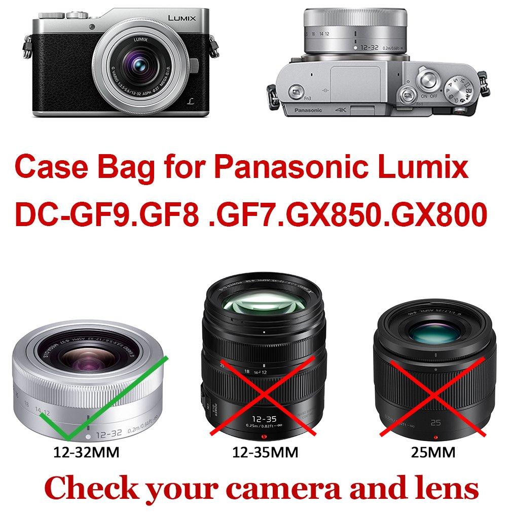 Jual Panasonic Lumix Dmc Gf9 Kit 12 32mm Brown Terbaru 2018 Gf8 Paket First2savvv Full Body Precise Fit Pu Leather Digital