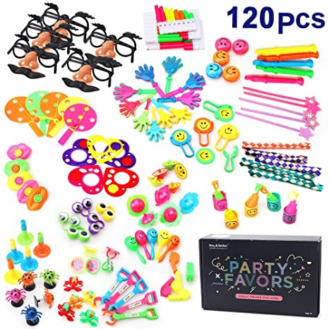 Carnival party game prizes