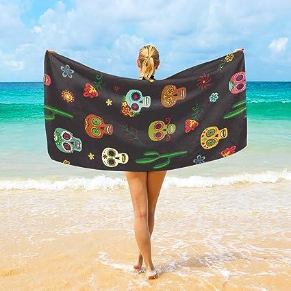 acheter serviette tete de mort online 11