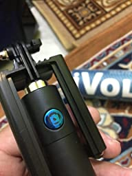 ivoltaa next gen compact selfie stick wired for iphone electronics. Black Bedroom Furniture Sets. Home Design Ideas