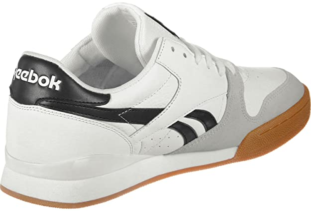 10d7e02304045 Reebok Men s Phase 1 Pro Mu Gum-White Black Snowy Gry Tennis Shoes-5.5  UK India (38.5 EU)(6.5 US) (CN3401)  Buy Online at Low Prices in India -  Amazon.in
