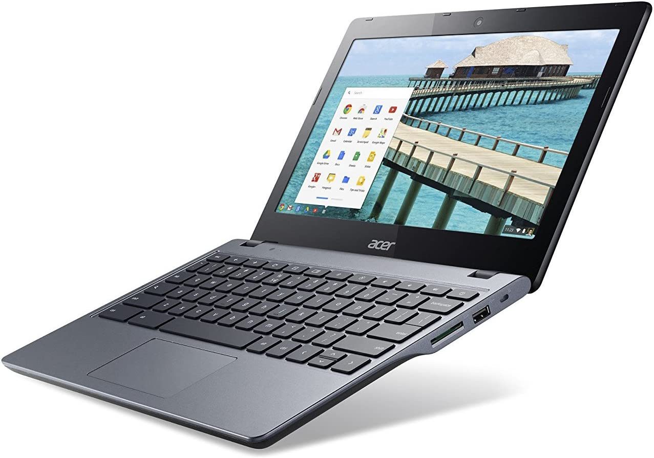 (Renewed) Acer C720-2103 11.6 in chromebook, Intel Celeron 1.4GHz 2GB Ram   16GB SSD