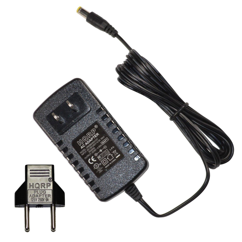 HQRP Adaptador de CA para Casio CTK100, CTK200, CZ1000, CZ230S, DG10, DG20, DM100, DZ1 Teclado má s Adaptador de enchufe europeo DZ1 Teclado más Adaptador de enchufe europeo 884667601281408