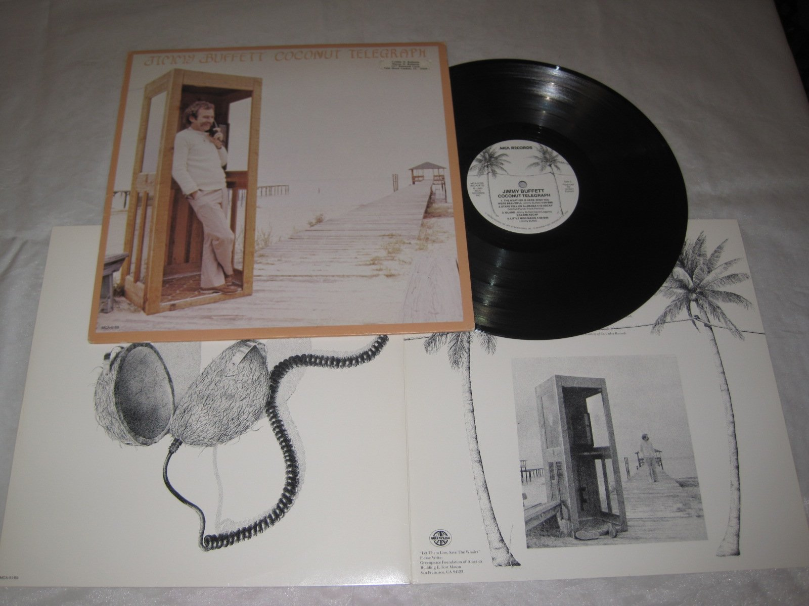 Jimmy Buffett - Coconut Telegraph - Vinyl LP by MCA