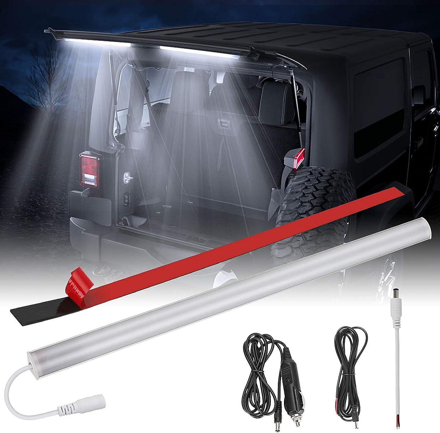 Rear Glass Lift Gate Dome Light Bar for Wrangler 2007-2018 JK JKU