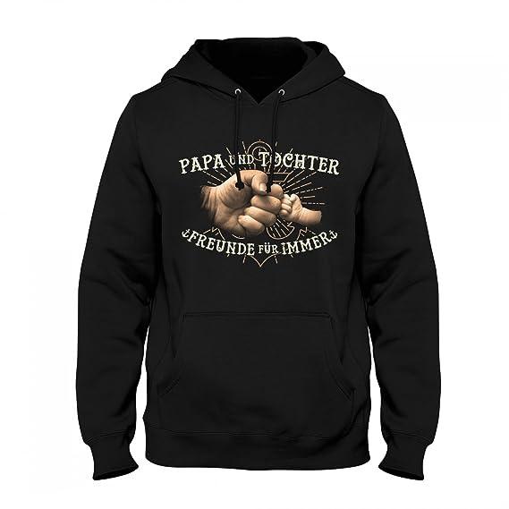 414aef161d Fashionalarm Herren Kapuzen Pullover - Papa und Tochter - Freunde für Immer  | Fun Hoodie mit Motiv & Spruch als Geschenk Idee Vater Geburt Baby: Amazon. de: ...