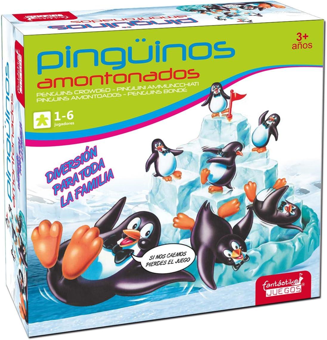 Juinsa- Juego Pingüinos (9844): Amazon.es: Juguetes y juegos