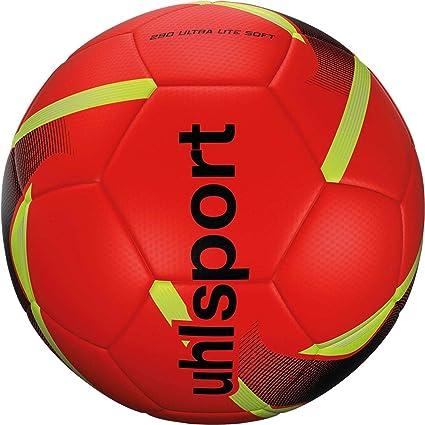 Uhlsport 290 Ultra Lite Soft Balón fútbol, Juventud Unisex, Red ...