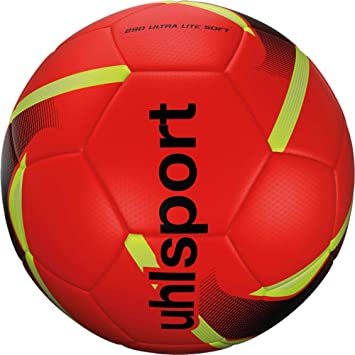 uhlsport 290 Ultra Lite Soft Balón Fútbol, Juventud Unisex: Amazon ...