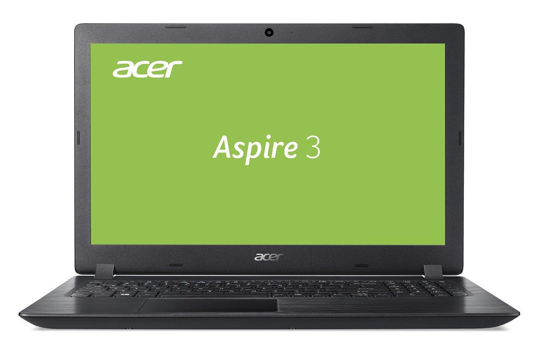Acer Aspire 3 (A315-51-3388) 39,6 cm (15,6 Zoll Full-HD matt) Multimedia Laptop (Intel Core i3-8130U, 4 GB RAM + 16 GB Intel Optane Speicher, 1000 GB HDD, Intel UHD, Win 10) schwarz