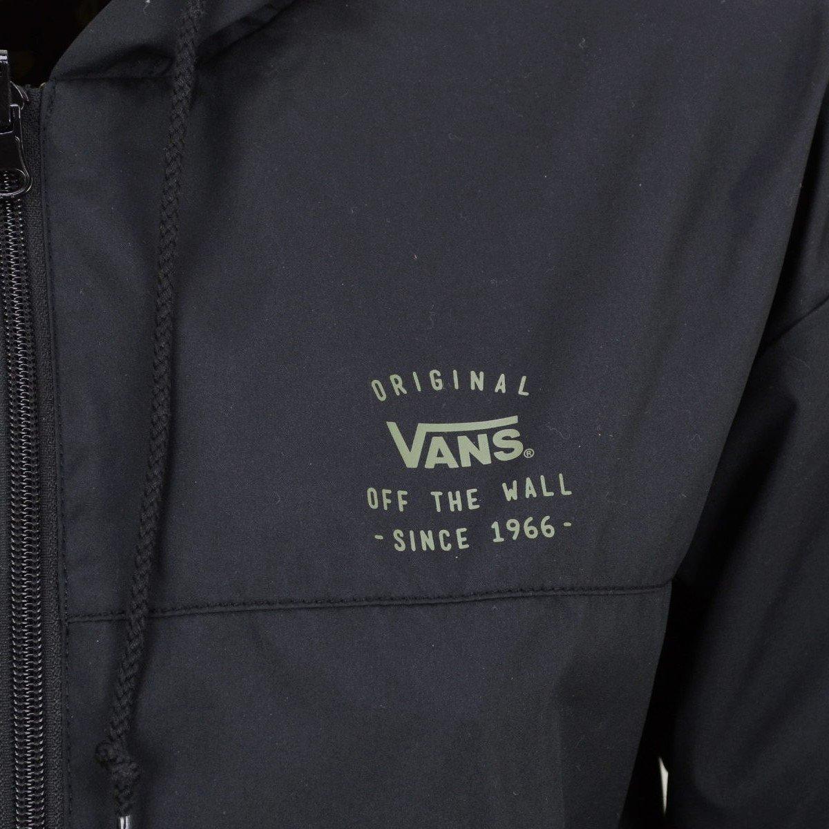 Vans - Abrigo Impermeable - para Mujer Negro M: Amazon.es: Ropa y accesorios