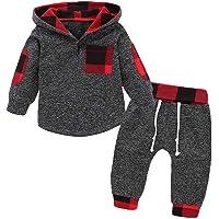 SANMIO 2Pcs Niños Ropa con Capucha Ropa Sudadera Top + Pantalones Bebés Chándal Conjuntos