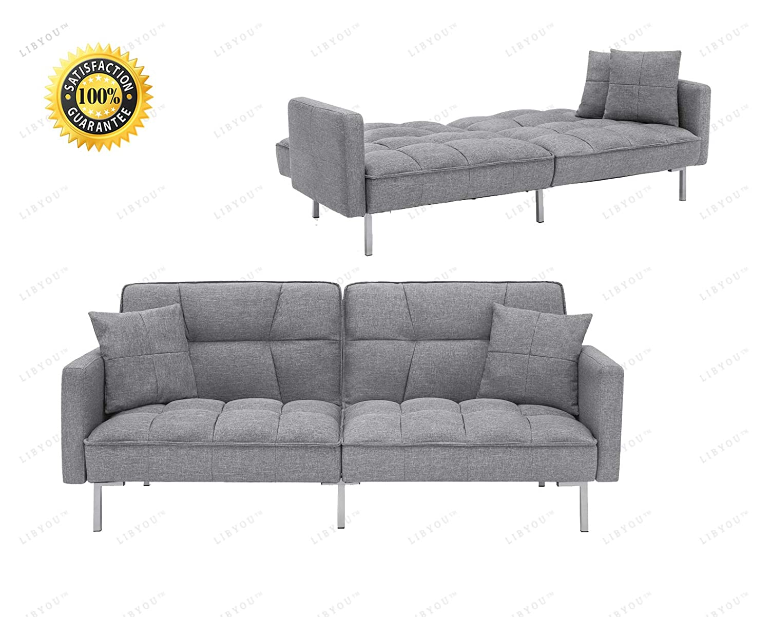 Amazon.com: COLIBROX_Armrest Chair, Sofa,Couch,Living Room ...