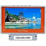 """Eyoyo 5""""LCD HD 1080P AHD/CVBS CCTV アナログカメラ モニター ビデオテスター PAL/NTSC 12V UTPテスト"""