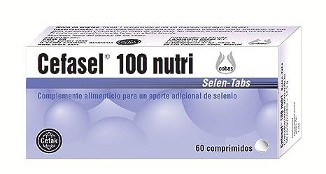Ijsalut Cefasel 100 nutri comp, Complemento alimenticio para un aporte adicional de selenio, 60