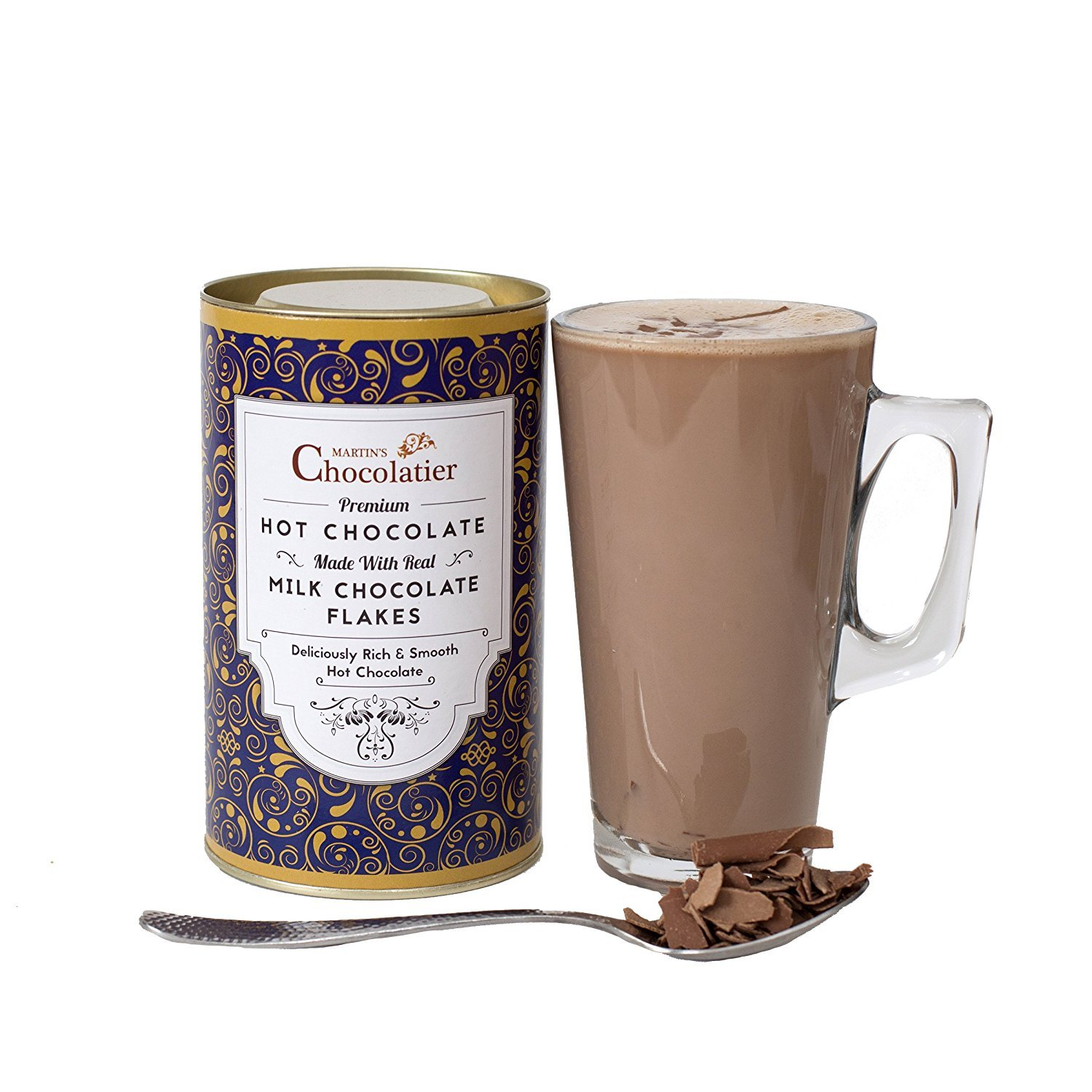 Milk Hot Chocolate Luxury Gift Set: Amazon.es: Alimentación ...