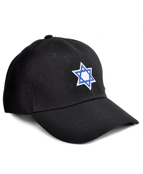 Image Unavailable. Image not available for. Color  Jewish Star of David  Embroidered Baseball Cap 71e85f60b2a