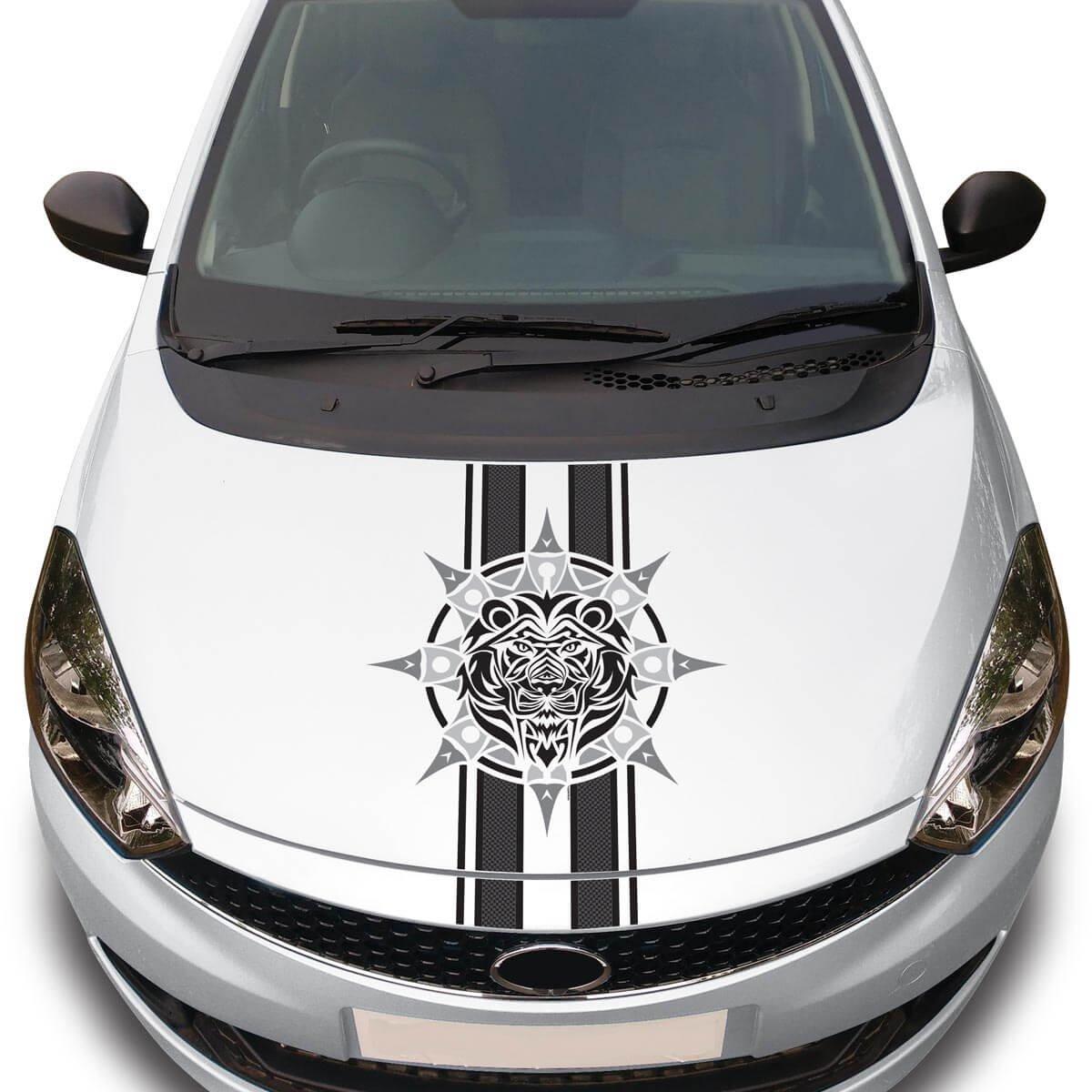 Autographix car sticker graphic decals wild beast car styling accessories amazon in car motorbike