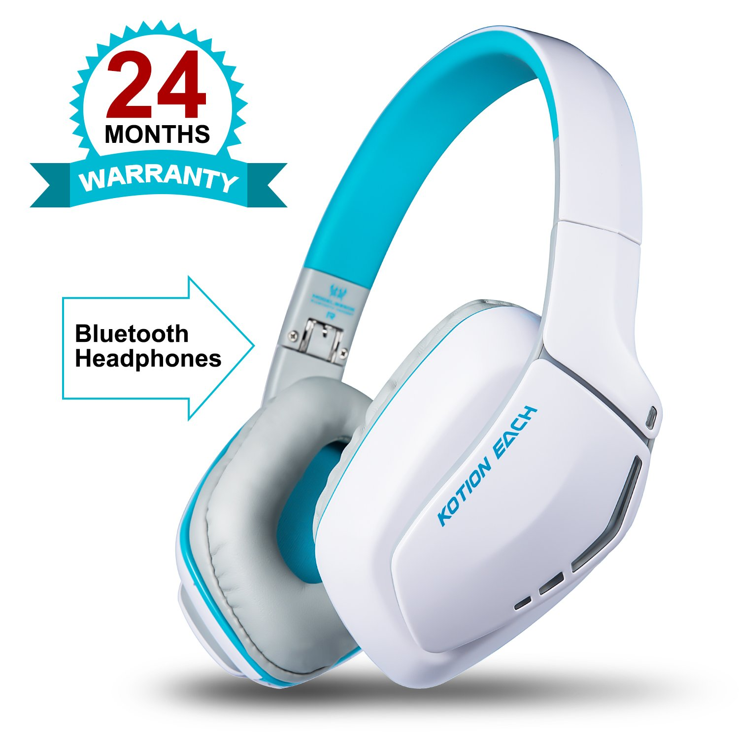 delicate KOTION EACH B3506 V4.1 Bluetooth Headphones with Microphone ...