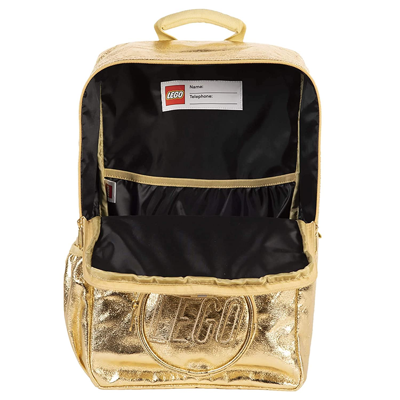 LEGO Brick Backpack Gold Fashion Backpack